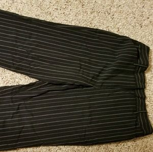 Pinstripe dress pants